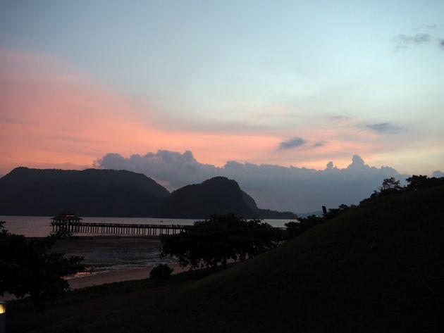 Langkawi-zonsondergang