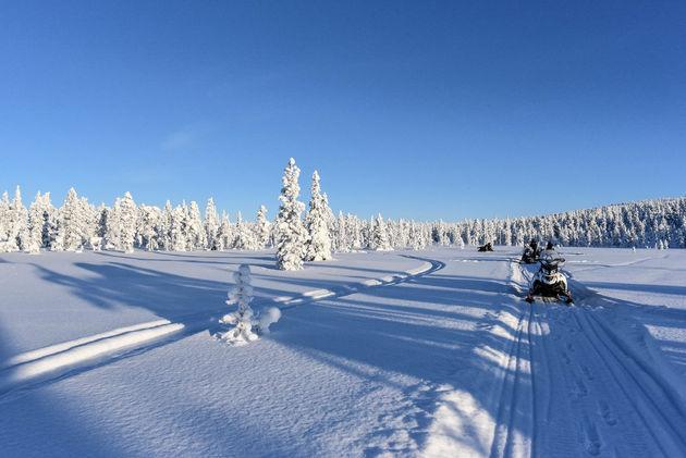 lapland-uitzicht-sneeuwscooter