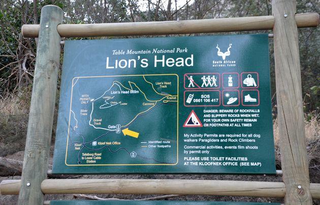 lion's-head-trail-start