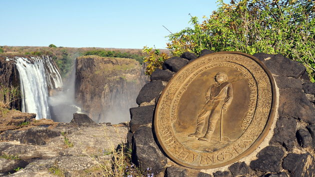 Livingstone island Zambia