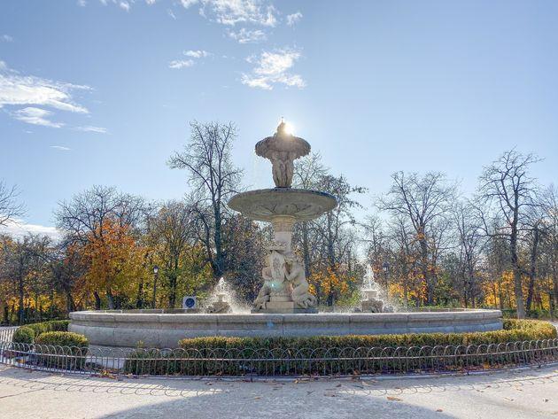 madrid-Fontein-park