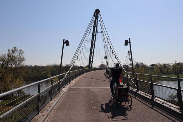 Magdeburg-fietsen-brug