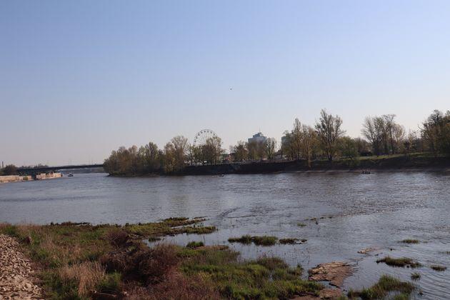 Magdeburg-fietsen-Elbe-water