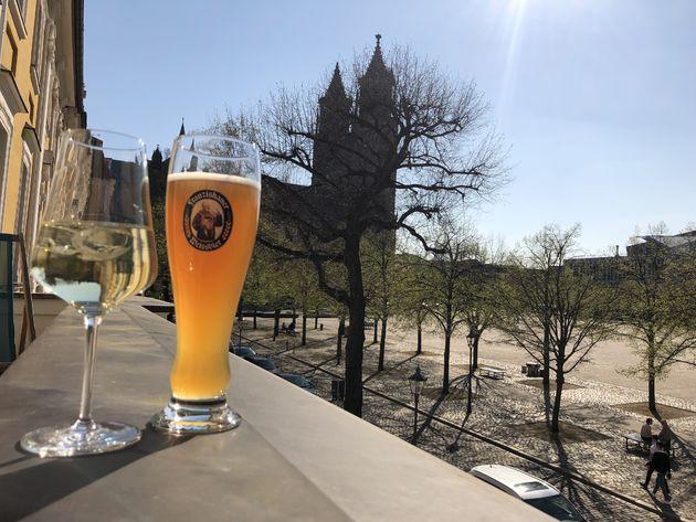 Magdeburg-uitzicht