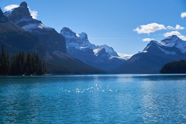 Maligne Lake Rockies