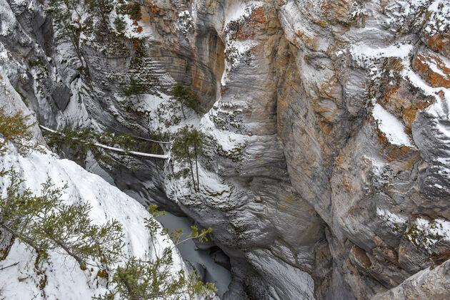 maligne-canyon-kloof