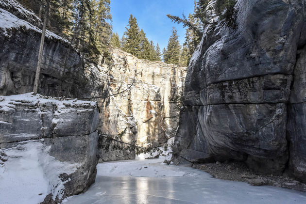 maligne-canyon-kloof