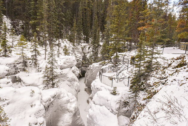 maligne-canyon-loop-trail