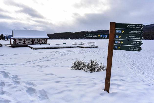 maligne-lake-wandelroutes
