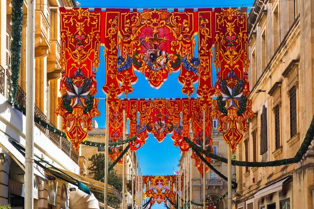 malta-feest-versiering