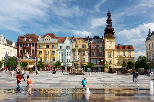 Masaryk_plein_Ostrava