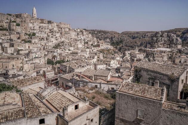 Matera-uitzicht