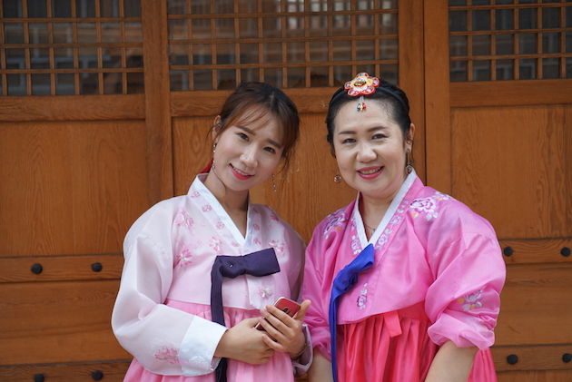 moeder-dochter-zuid-korea