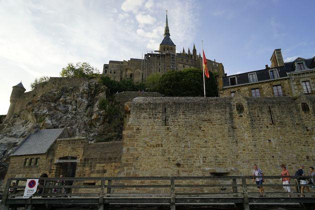 Mont_Saint_Michel_abdij_ingang
