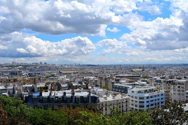 montmartre-uitzicht