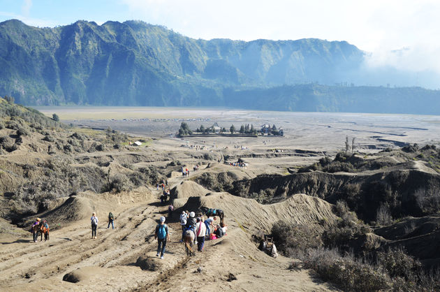 mount-bromo-maanlandschap