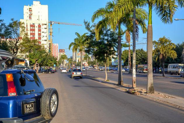 Mozambique-Straatbeeld-Maputo