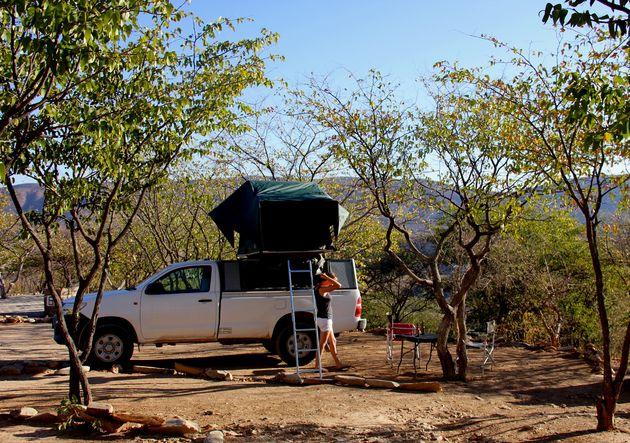 namibië-kamperen