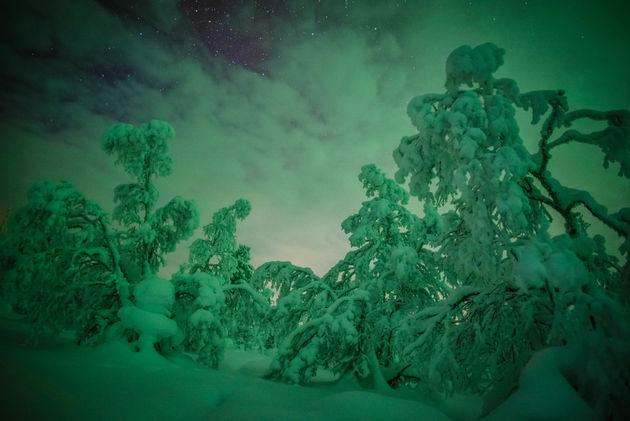 noorderlicht-zweeds-lapland