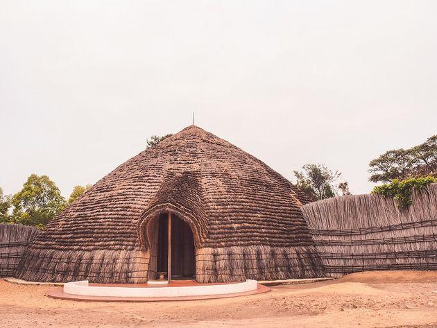 Nyanza oude paleis koning Rwanda
