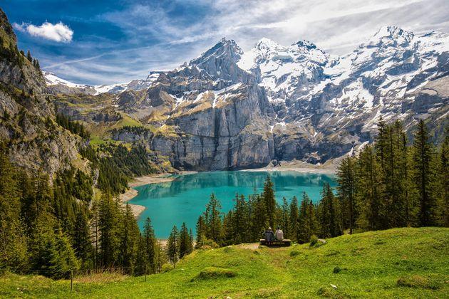 Oeschinensee-hiken-zwitserland