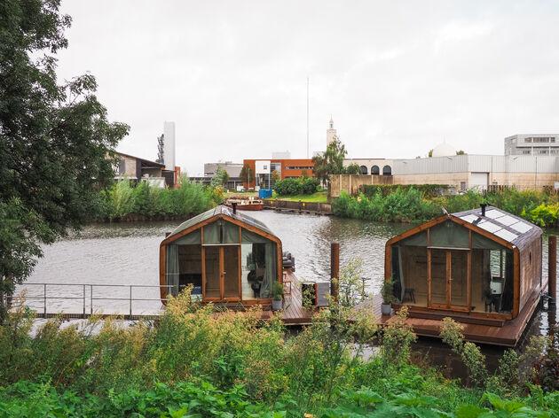 Wikkelboat 1 en 2 op de Dieze