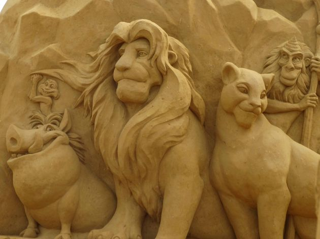 oostende_zandsculptuur_lion_king