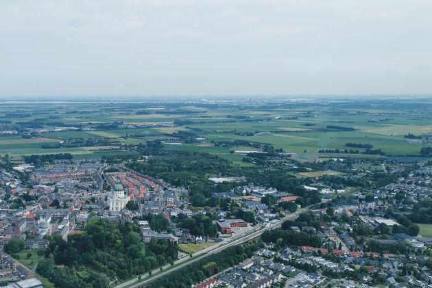 Oudenbosch_rondvlucht_West-Brabant