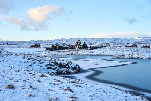 Oudste huis van ijsland Snaefellsnes