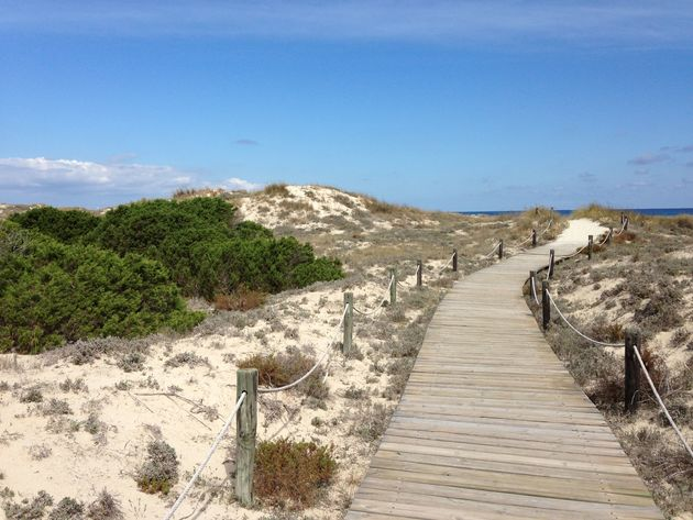 Pad-strand-Formentera