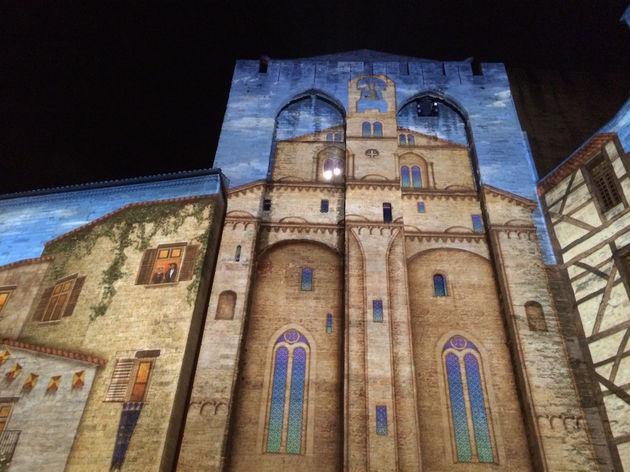 Palais des Papes - Les Luminessences d'Avignon 4