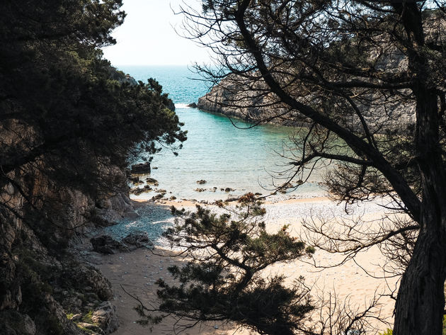 Paralia Glossa strand