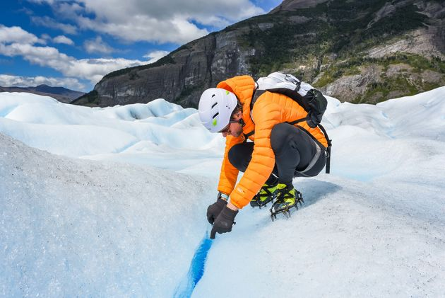 perito-moreno-gletsjer-water-drinken