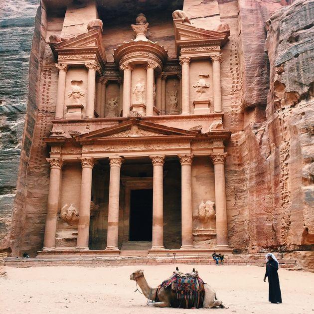 petra-jordanië