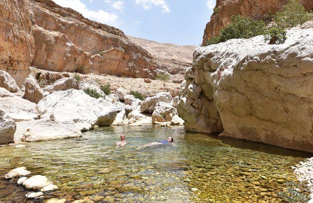 prive-zwembad-wadi-bani-khalid