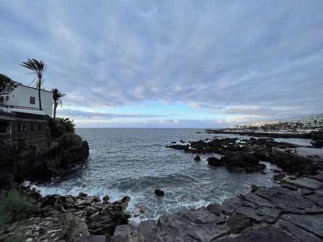 Puerto de la Cruz kust Tenerife