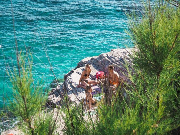 Pula Verudela Adriatische Zee