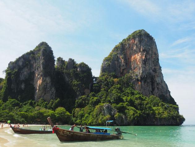 Railay strand Thailand