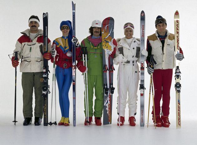 Zo Cool Was Skikleding In De Jaren 80
