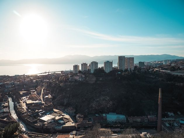 Rijeka havenstad