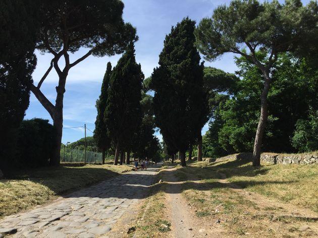 Rome-via-appia-weg-1