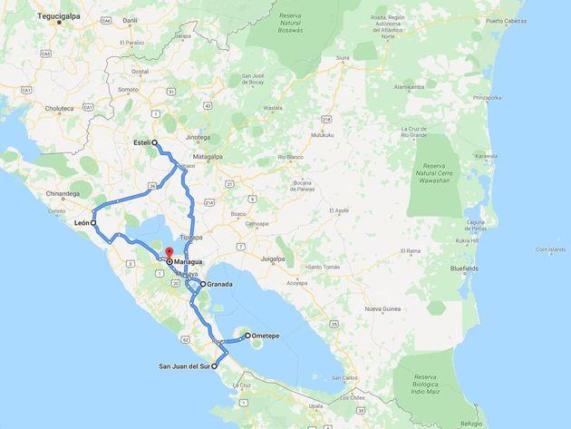 Rondreis Nicaragua