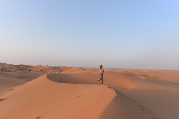 rondreis-oman-zonsondergang-woestijn