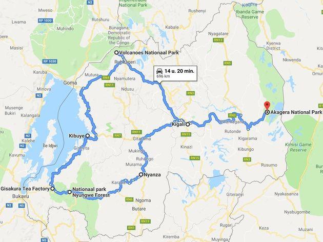 Rondreis Rwanda