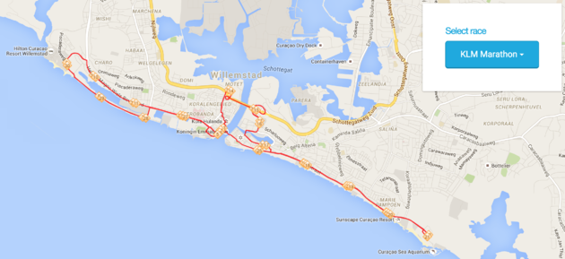route-marathon-curacao