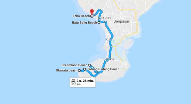 route-mooiste-stranden-bali