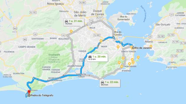 route-rio-de-janeiro-Pedra-Do-Telégrafo.