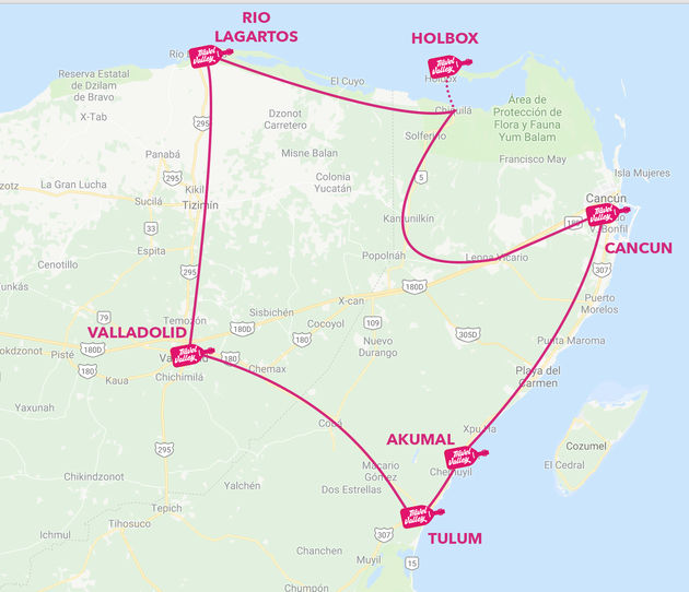 route-roadtrip-yucatan-mexico