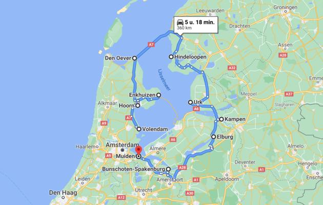 route-roadtrip-zuiderzee
