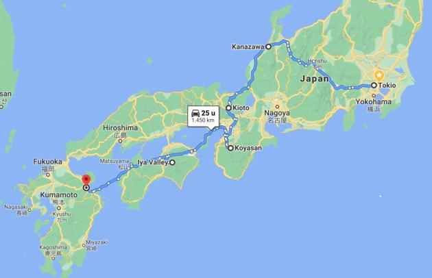 route-rondreis-japan
